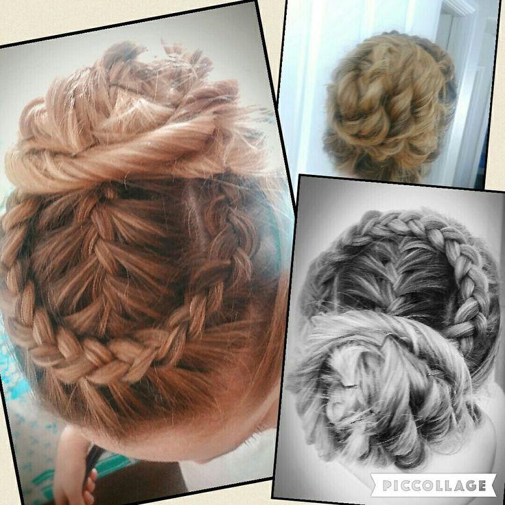 Wrapped Dutch braid #braid #Upstyles #bridalhairstyles