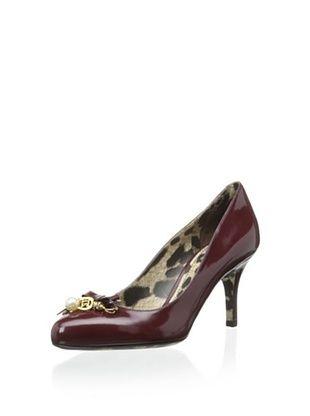 42% OFF Dolce & Gabbana Women's Pump (Burgundy)