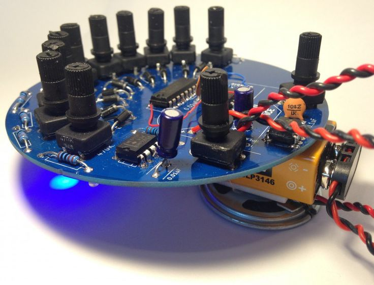 baby10 build a classic analog music sequencer