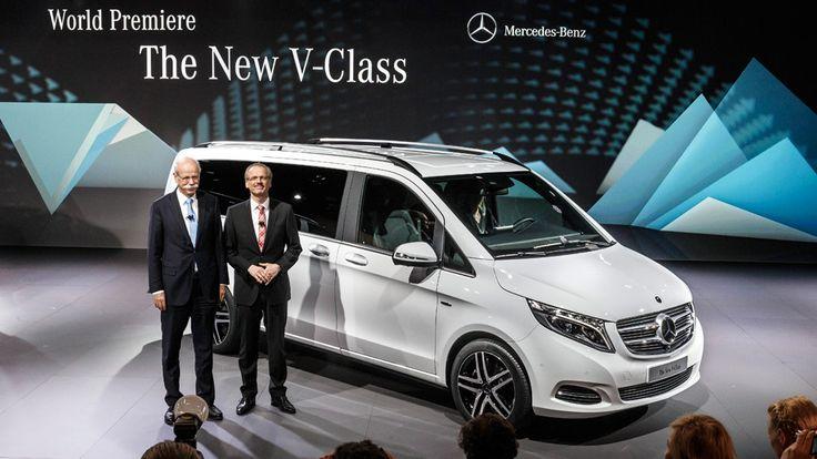 2015 Mercedes Minivan Launches in Europe