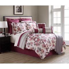 16 pc. Comforter Set - Vintage Floral - Kmart