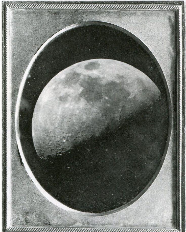 John Adams Whipple, Moon, 1851, Daguerreotype