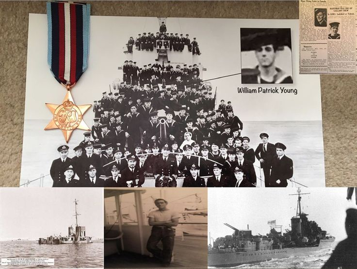 The story of Able Seaman William Patrick Young, survivor of three shipwrecks during World War 2