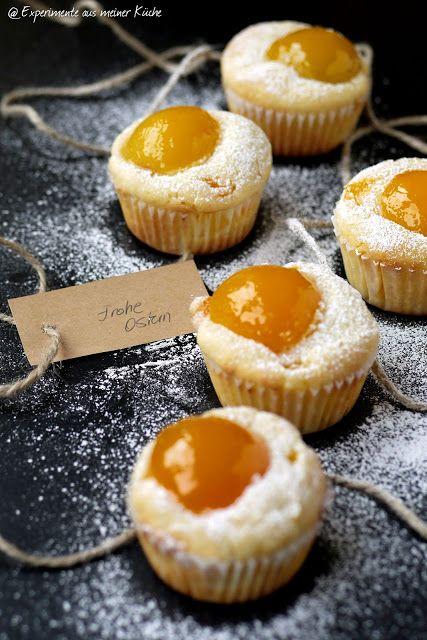 Aprikosen-Spiegelei-Muffins