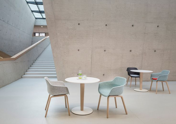Zenith Interiors: Crona Felt Easy Chair  - Wood