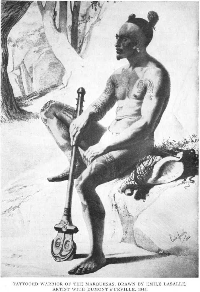 nativo de las Marquesas