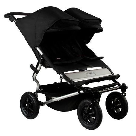 Mountain Buggy Duet Twin-Black (New) Cleverly designed and engineered at just 63cm slim at the wheel base, duet is no wider than a single buggy, taking you and your baby places a side-by-side double buggy has never been before. Packed wi http://www.MightGet.com/march-2017-1/mountain-buggy-duet-twin-black-new-.asp