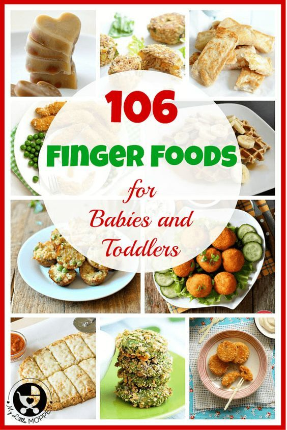 If your baby has started weaning and you're looking for finger foods, here is a master collection of 106 baby finger food recipes - all for you! via @MyLittleMoppet