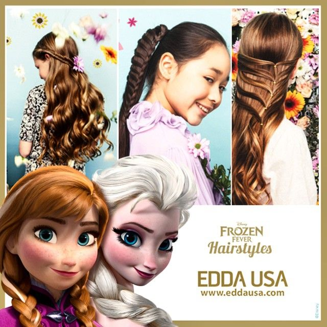 Disney Hairstyles disney channel First Look Disney Frozen Fever Hairstyles Published By Eddausa Has 28 Brand