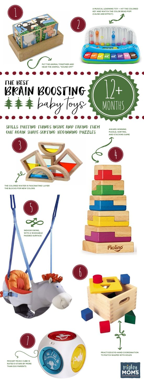 The Best Brain Boosting Baby Toys: a Buying Guide for Smart Parents