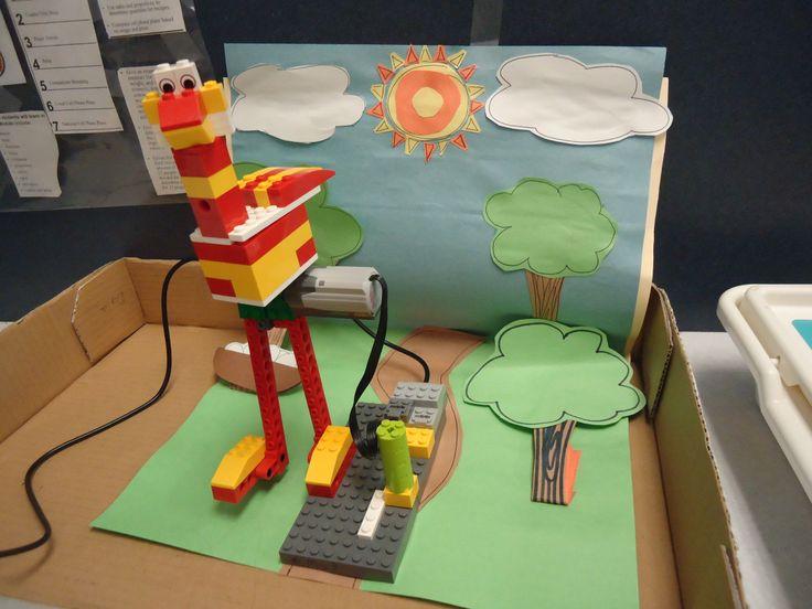 LEGO WeDo and Scratch: Playful Robotics   Austin Mini Maker Faire