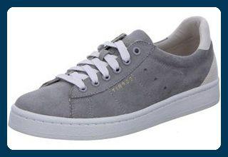 ESPRIT Gwen Fuzzy LU, Damen Sneakers, Grau (030 grey), 42 EU - Sneakers für frauen (*Partner-Link)