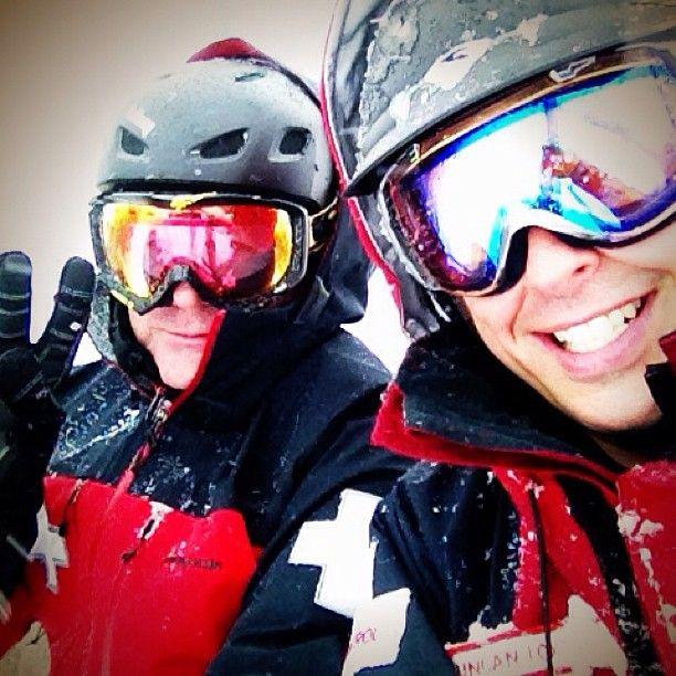 Very happy Ski patrollers.