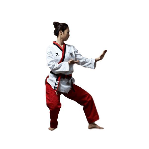 *Dobok Taekwondo Protec JCalicu Poom Chica - €58.50   http://soloartesmarciales.com    #ArtesMarciales #Taekwondo #Karate #Judo #Hapkido #jiujitsu #BJJ #Boxeo #Aikido #Sambo #MMA #Ninjutsu #Protec #Adidas #Daedo #Mizuno #Rudeboys #KrAvMaga