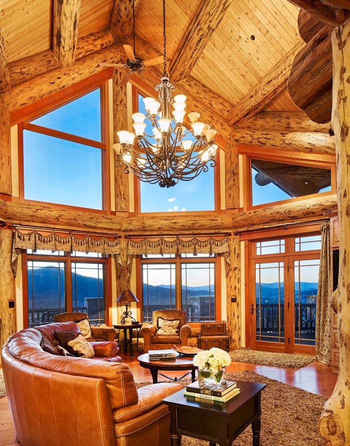 photo david patterson a log home in steamboat springs colorado colorado homes lifestyles - Colorado Home Design