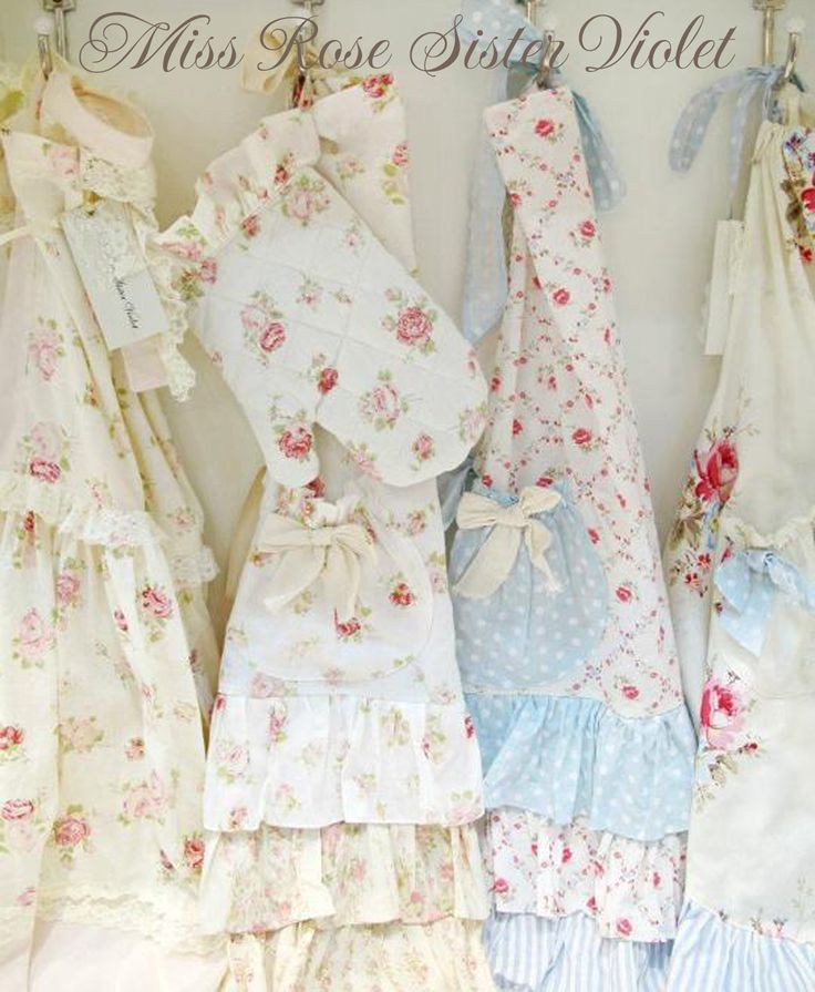 77 best shabby chic aprons and kitchen linens images on pinterest rh pinterest com shabby chic apron pattern shabby chic aprons australia
