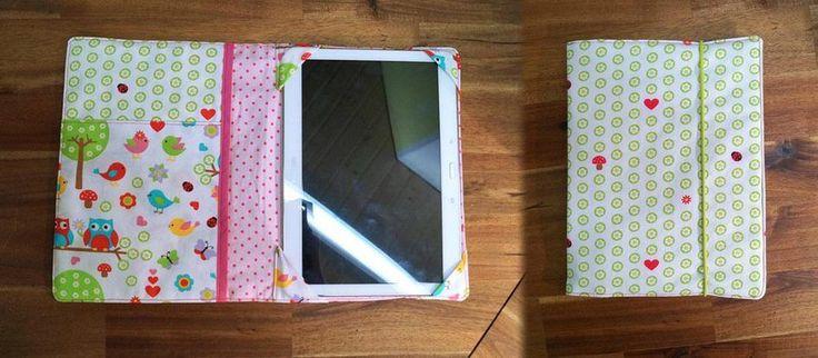 Hier eine tolle ★ Geschenk-Idee ★ von Julia für das Tablet von Family & Freunden. Für ein Smartphone klappt das natürlich genauso, ist jedoch etwas Fummelei.