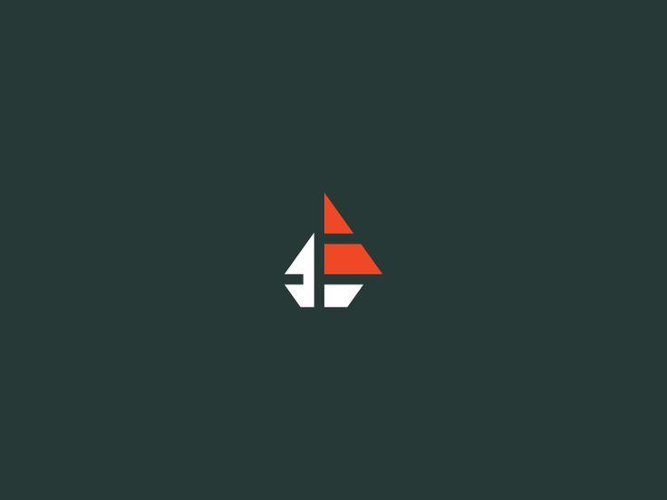 ship & f // logo by Mindaugas Dudenas