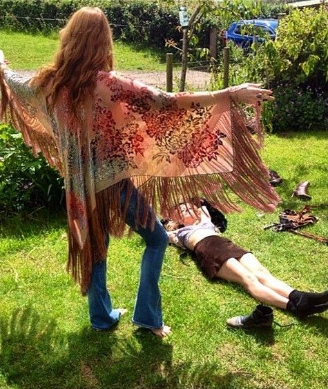 "27-06-2015 ""Morning after #florenceandthemachine incredible set at #Glastonbury15"