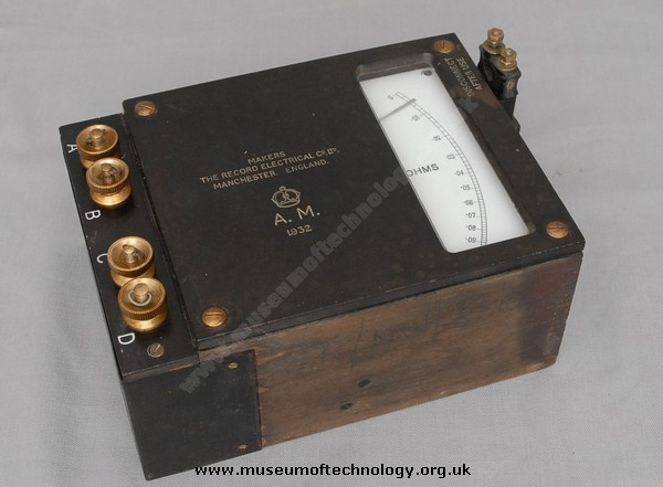 Air Ministry Ohm meter: Work, Tools, Ministry Ohm, Electrical Equipment, Men, Vintage Energy, Antique Electrical