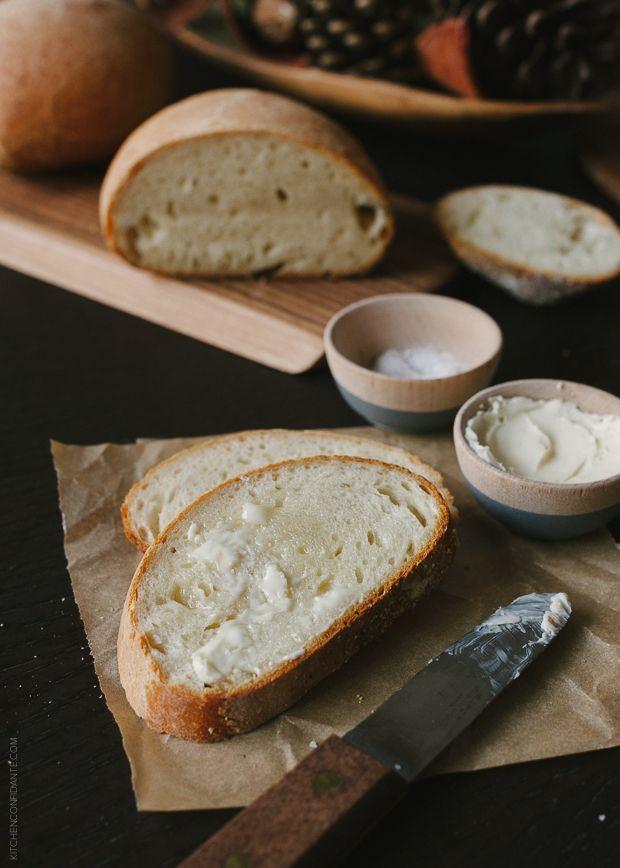 No Knead Buttermilk Bread | www.kitchenconfidante.com from @Liren Baker | Kitchen Confidante