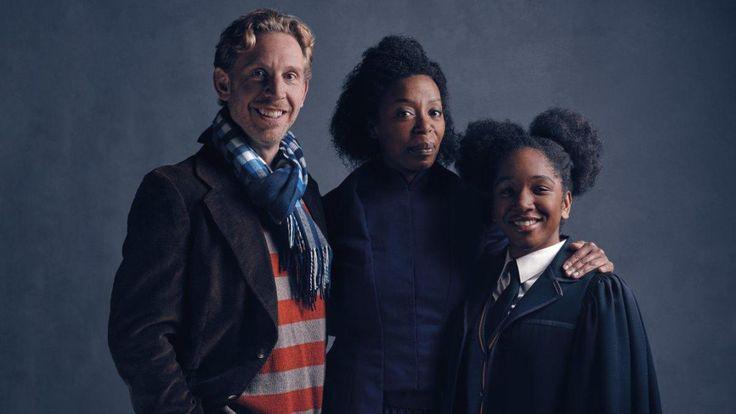 Hermione negra, Ron Weasley e Rose Granger Weasley em Harry Potter