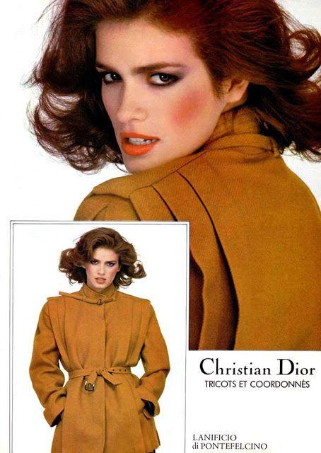GIA, Christian Dior Ad - 1981