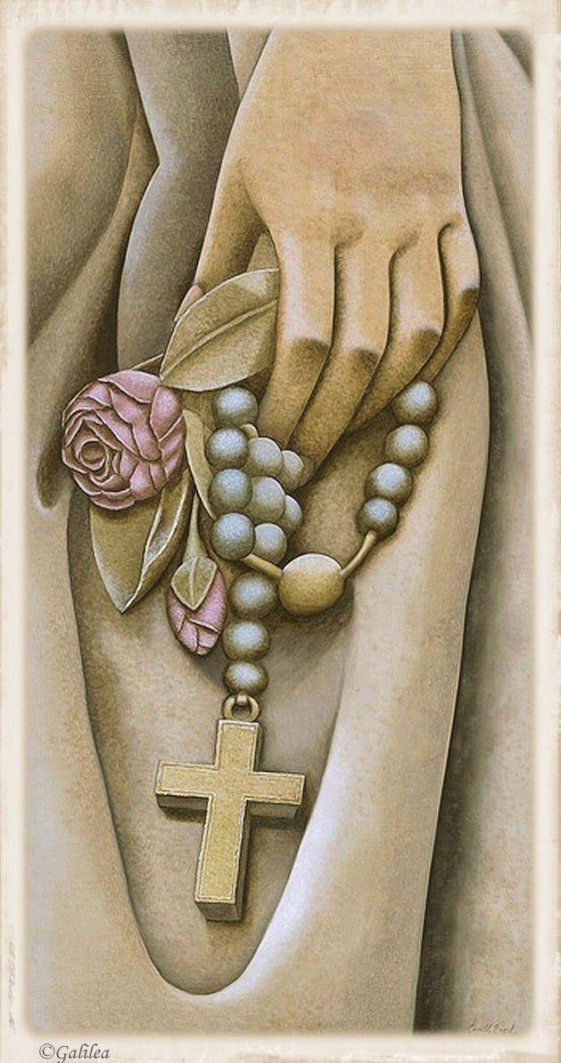 Santa María, Madre de Dios y Madre nuestra: Las quince promesas de la Virgen a Álano de Roche a los que recen el Santo Rosario.