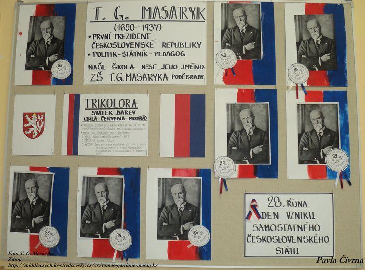 Svátek barev - T. G. Masaryk - Den vzniku samostatného československého státu