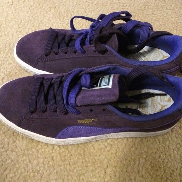 pumas suede classic size 2