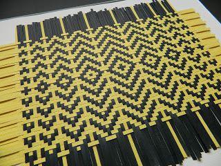 Anette Meier: Paper Weaving Flats