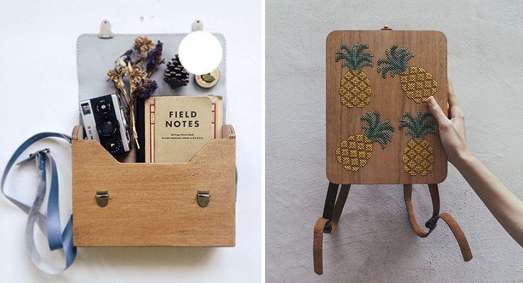 Grav Grav: Bolsos de madera que se mezclan con patrones de naturaleza   Undermatic
