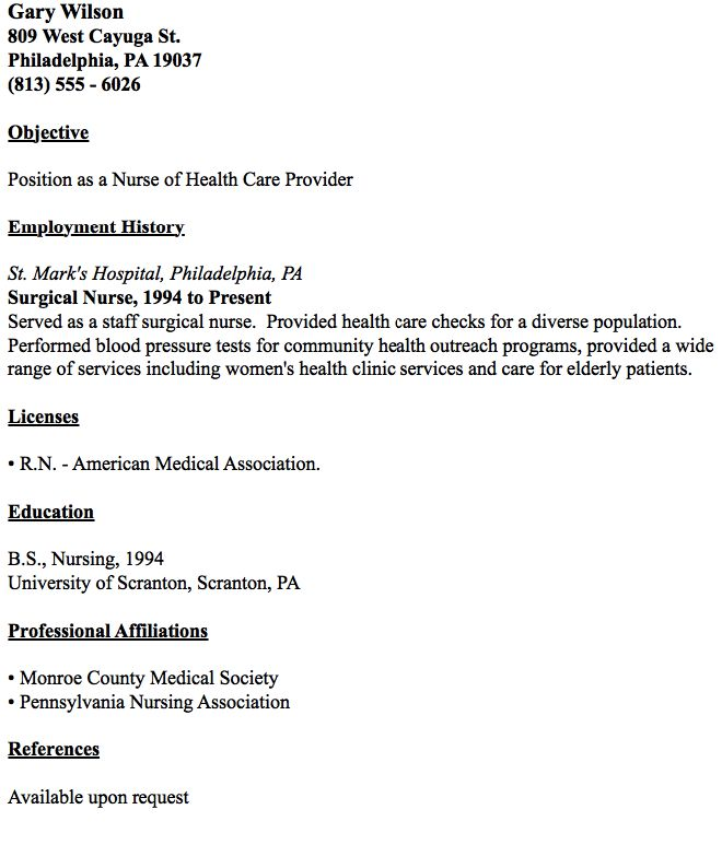 Sample Surgical Nurse Resume Surgical Technologist Student Resumes
