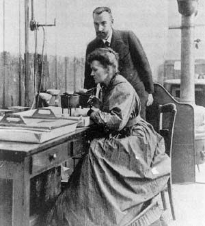 Pierre and Marie Curie - yay nerd love