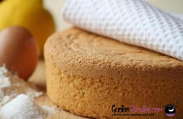Pan+di+spagna+ricetta+base+per+dolci