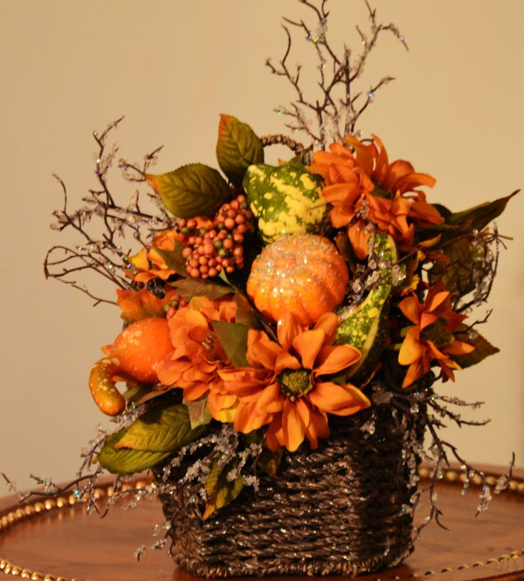 Best Fall Florals Images On Pinterest Autumn Wreaths Front - Delicate fall decor ideas for this autumn