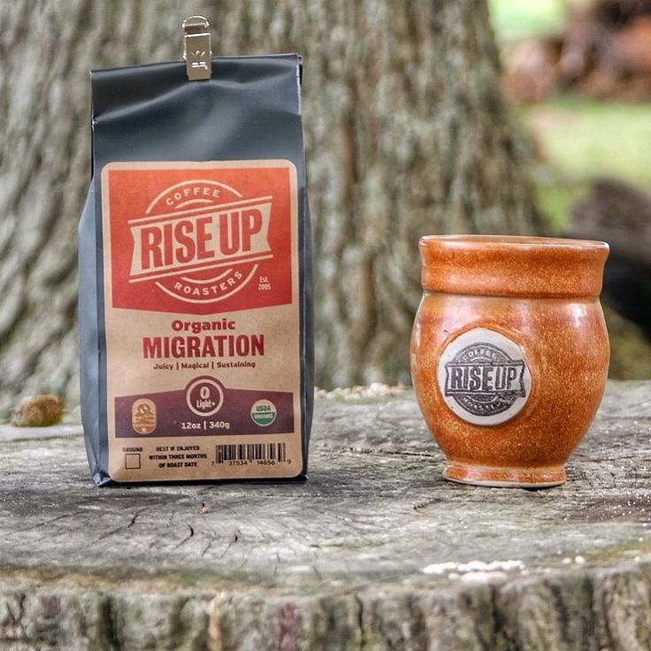 Rise Up Fall Migration Seasonal Coffee is available at Harvest Market. #fairtrade #coffee #locallyroasted #madeinmaryland