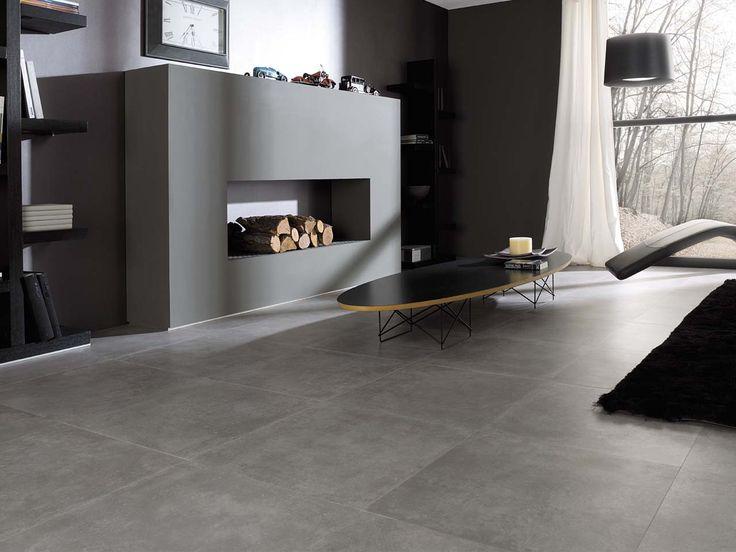 Piso l nea ston ker modelo rhin gris de for Modelos de ceramica para pisos de sala