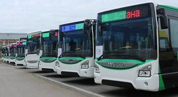 IVECO BUS has completed the first delivery in a contract for the supply of 210 Urbanway and Urbanway Hybrid buses to the city of Astana, Kazakhstan. This or