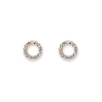Buy Gold Cz Circle Earrings at competitive prices from Fishers on Cameron