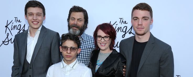 "The cast of ""The Kings of Summer"" attended a special Los Angeles screening where Megan Mullally revealed to The Seven Sees the moment she ""became a man."""