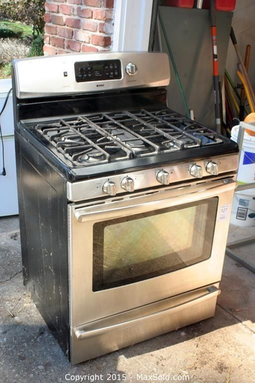 MaxSold - Auction: Atlanta  Moving Online Auction - Kenmore Gas Stove sold for $340.00
