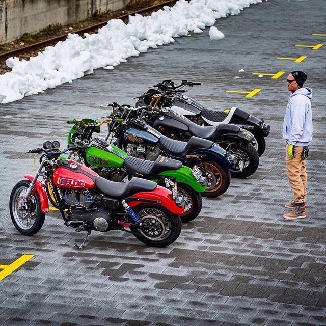 Hard9choppers Five Bikes One Insurance Axaswitzerland Axa Thanx