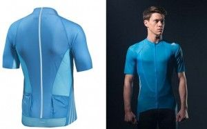 The Adidas adiZero – cycling jersey weighing just 65 grams