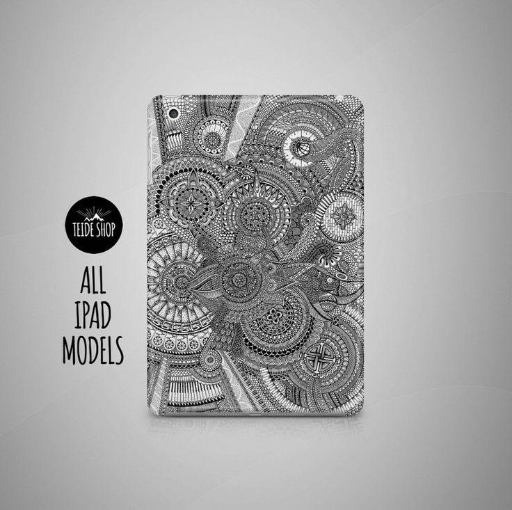 Mandala iPad Yoga bouddhisme cas iPad Mini étui iPad par TeideShop