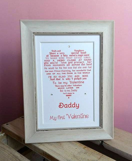 Gift for dad or husband, could be from daughter son or baby.