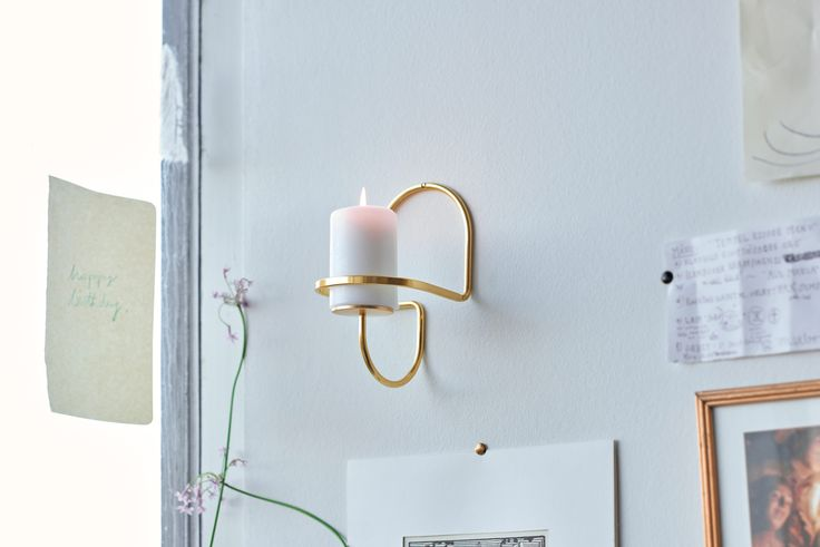 Lup Wall candleholder.