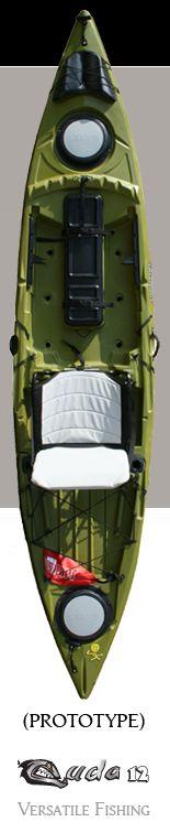 Cuda 12 - Jackson Kayak - Definitely my next kayak. I am so buying this!!