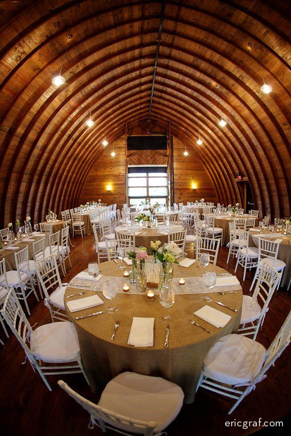 Ghee barn wedding reception Yew Dell Botanical