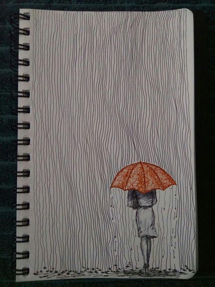 On a rainy day